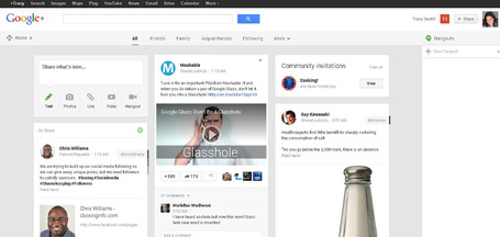 BREAKING: Google Reveals New Google Plus Layout to Compete with Facebook - Social Strand Media | Social media culture | Scoop.it