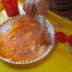 We made paper plate pumpkin pies in preschool | Teach Preschool | Scoop.it