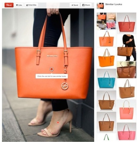 Pinterest Experiments With Real-Time Related Pin Recommendations, Object Recognition | Pinterest | Scoop.it