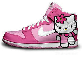 Girls Nike Dunk Pink Hello Kitty Hi Top [hello-kitty-shoes-1006] - $86.00 : DC Comic Dunks ,Marvel Comic Dunks, Superhero Nike Dunks Shoes ,Superman ,Batman ,Spiderman,Captain America Nikes | Hello Kitty Nike Dunks | Scoop.it