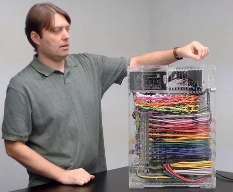 Linux Video of the Week: 40-Node Raspberry Pi Supercomputer - Linux.com (blog)   Arduino, Netduino, Rasperry Pi!   Scoop.it