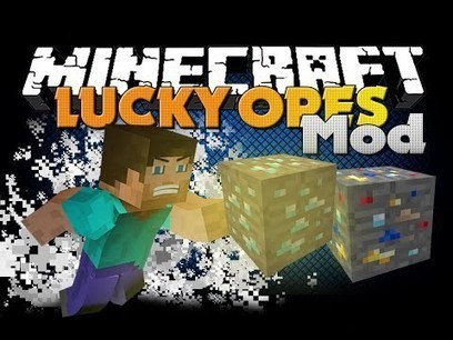 Minecraft Mod - Lucky Ore Mod - New Ore and Luck | Healthy, Wealthy & Happy Living | Scoop.it