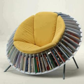Chair Bookcase | Fantastic Cleaners | Cleaners in London | Fantastic Cleaners London | Scoop.it