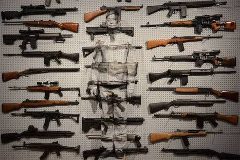 Liu Bolin:  'Gun Rack' | VIM | Scoop.it