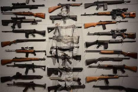 Liu Bolin:  'Gun Rack' | Art Installations, Sculpture, Contemporary Art | Scoop.it
