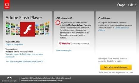 Vulnérabilités critiques dans Flash Player - Secuser.com | Mobile development , PhoneGap, angularJS, AS3 | Scoop.it