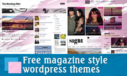 50 Free Magazine Style Wordpress Themes   Get your PSD's Converted to HTML   Scoop.it