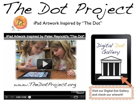 TheDotProject.org -- iPad Artwork Inspired by The Dot | iPads for learning | Scoop.it