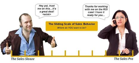 The Sliding Scale of Sales Behavior | Harold_Likes_Tennis | Scoop.it