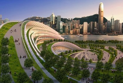 Green Roofs Are Changing Architecture: Kowloon Rail Terminus | sustainable architecture | Scoop.it