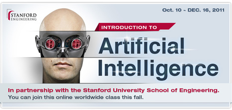 Introduction to Artificial Intelligence - Fall 2011 | Skylarkers | Scoop.it