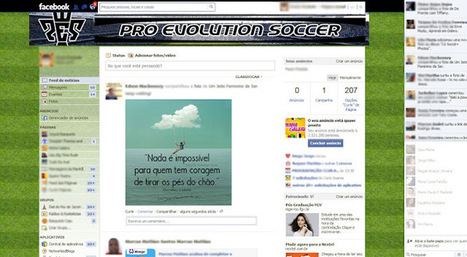 Theme for Facebook - PES | Themes for Facebook | Scoop.it