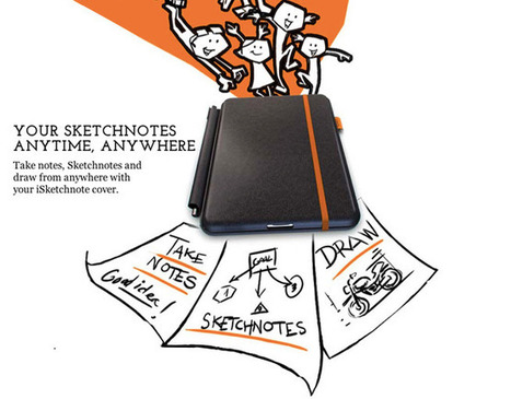 iSketchnote case enables users to use pen and paper to draw things on iPad | ISKETCHNOTE CASE ENABLES USERS TO USE PEN AND PAPER TO DRAW THINGS ON IPAD | Scoop.it