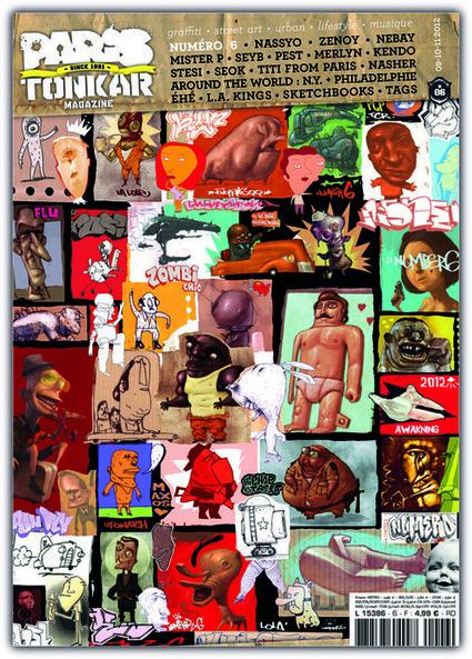 PARIS TONKAR #6 | Tarek artwork | Scoop.it