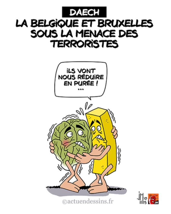 La Belgique et Bruxelles sous la menace de Daech | Baie d'humour | Scoop.it
