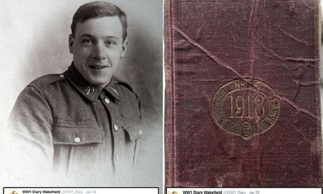 'Went out burying dead Germans and dead horses': Trenches diary of First World War soldier is brought to life in TWEETS | British Genealogy | Scoop.it