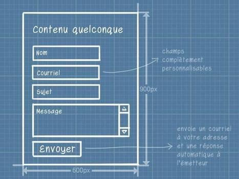 Conseils dans la mise en place d'un formulaire de contact ou d'inscription | Be Marketing 3.0 | Scoop.it