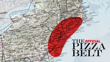 The Pizza Belt: the Most Important Pizza Theory You'll Read | Regional Geography | Scoop.it