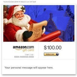Amazon.com: Amazon Gift Card - E-mail - Merry Christmas (Santa Claus): Gift Cards Store | Innovation Santé Dermatologie | Scoop.it