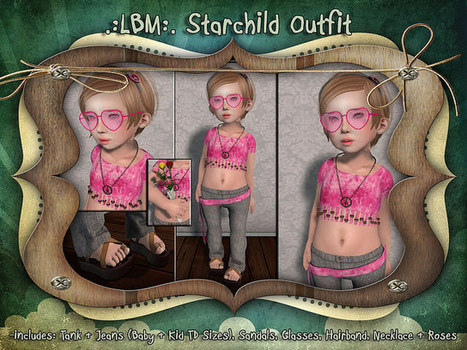 {LBM} Starchild Outfit Ad | chouchou | Scoop.it