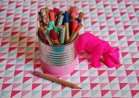 The Camelia: DIY - Customise tes crayons Ikea | DIY pour enfants | Scoop.it