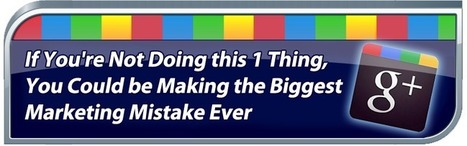 If You're Not Doing this 1 Thing, You Could be Making the Biggest Marketing Mistake Ever | Sizzlin' News | Scoop.it