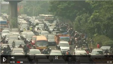 Unusual ways to avoid Jakarta's traffic | Geography Education | Scoop.it