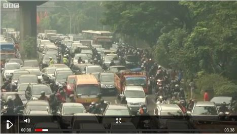 Unusual ways to avoid Jakarta's traffic | RIC World Regional Geography | Scoop.it