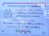 Resuelta la extravagancia : Este domingo no abrió la Biblioteca ... | Index Murcia | Scoop.it