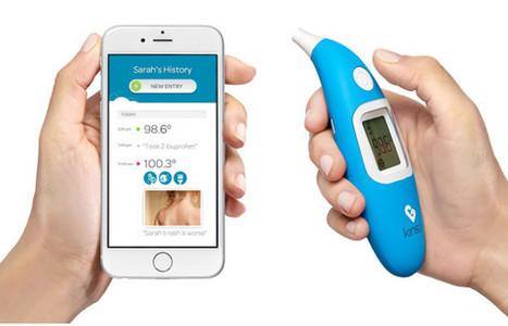 Kinsa lance un thermomètre médical connecté - Buzz-esanté   Buzz e-sante   Scoop.it