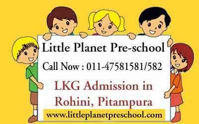LKG Schools Admission in Prashant Vihar, Rohini | Preschool & Play School in India | Scoop.it