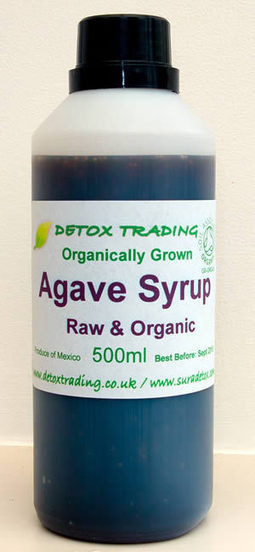 Organic Raw Dark Agave Syrup | Mexico | Detox Trading Cheap Superfoods | Super Foods | Scoop.it