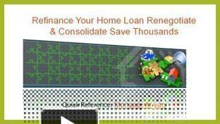 Refinance Your Home Loan Renegotiate & Consolidate Save Thousand | Fundsnational | Scoop.it