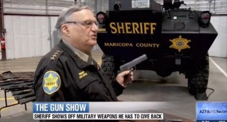 Sheriff Joe Arpaio invites Al Sharpton to take the unwinnable 'shoot-or-be-killed' police test | Criminal Justice in America | Scoop.it
