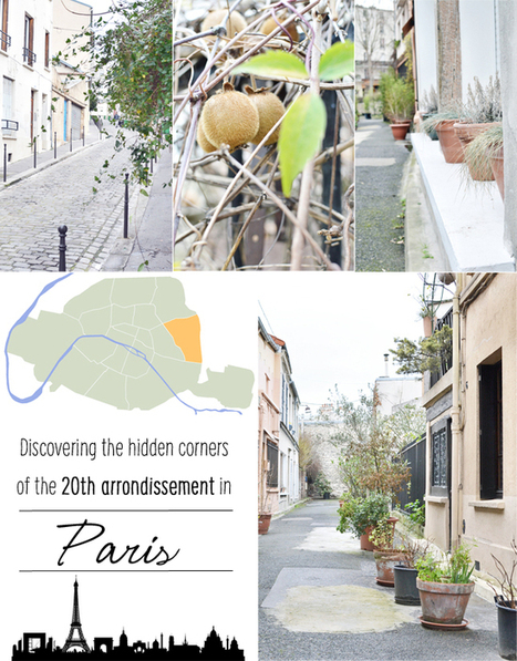 Happy Interior Blog: From Place To Space: Morning In The 20th Arrondissement In Paris | Creation and Innovation | Scoop.it