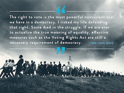 Why we still need the Voting Rights Act | Coffee Party Feminists | Scoop.it