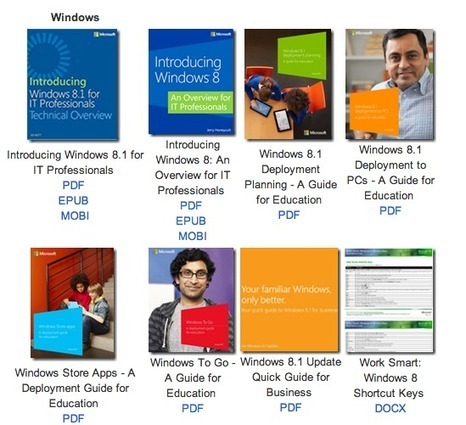 Free Technology for Teachers: 100+ eBooks On Everything You Might Want to Know About Microsoft Products | Transformational Teaching, Thinking, and Technology | Scoop.it