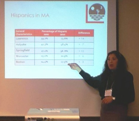 Patricia Gubitosi at the LASSO Conference in Indiana | The UMass Amherst Spanish & Portuguese Program Newsletter | Scoop.it