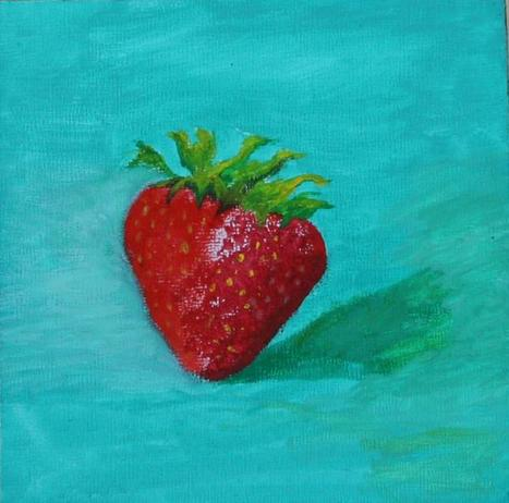 If only we could paint sth and then eat it! | The Arts forming our personality | Scoop.it