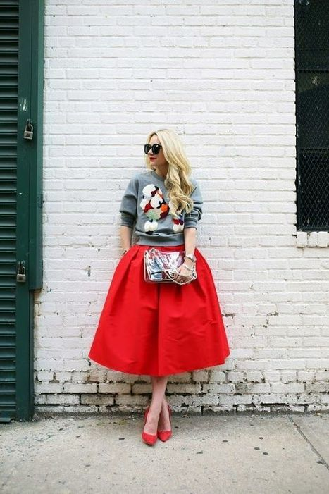 Picked Color: How to Wear Red Outfit » Celebrity Fashion, Outfit Trends And Beauty News | Fashion Style And Beauty Tips | Scoop.it