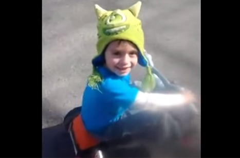Incredibly Cute Little Boy Loses Hat, Finds It On His Head. This Has Happened To You. | Funny, Inspirational, Amazing | Scoop.it