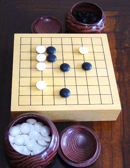 A game of Go where everyone can vote on the next move! | Go Board Game | Scoop.it