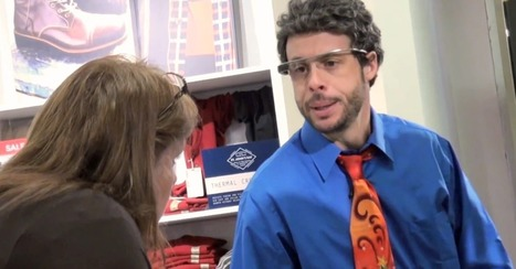 The Hilarious Downside of Using Google Glass in Public [VIDEO] | Real Estate Plus+ Daily News | Scoop.it