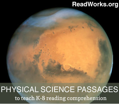 ReadWorks.org | Physical Science Passages | college and career ready | Scoop.it
