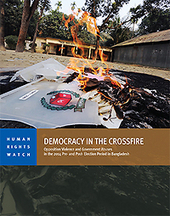 Democracy in the Crossfire: Opposition Violence and Government Abuses in the 2014 Pre- and Post- Election Period in Bangladesh | NGOs in Human Rights, Peace and Development | Scoop.it