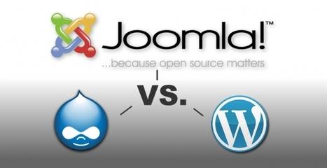 Why We Choose Joomla! Over Drupal and Wordpress | Joomla! Algérie | Scoop.it