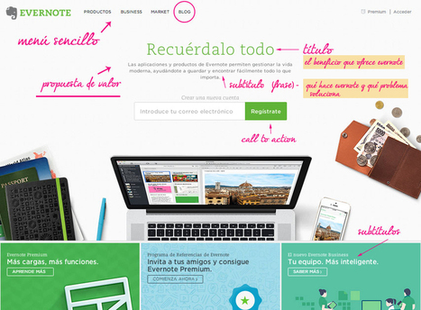 Consejos copywriting: cómo escribir tu home page | Maïder Tomasena | Links sobre Marketing, SEO y Social Media | Scoop.it