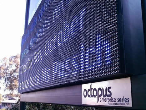 High Impact LED Sign For Outdoor Us | LED Display Technologies | Scoop.it