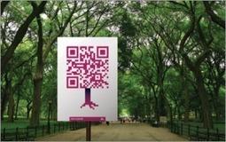 QR Code & tourisme - Application #5 / La réalité augmentée à Central Park | Etourisme pour les débutants | Scoop.it