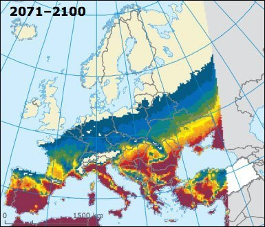 The 16 scariest maps from the E.U.'s massive new climate change report | Climate Chaos News | Scoop.it